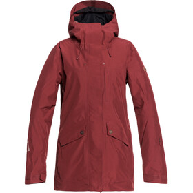 Roxy Glade Schneejacke Damen oxblood red